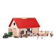 Woody Farm with Romano Accessories and Animals - Building Kit