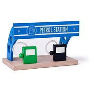 Woody Gas Station - Rail Set Accessory