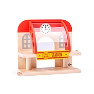 Woody Two-storey Station - Rail Set Accessory