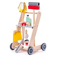 Woody Cleaning Cart - Wooden Toy