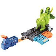 Hot Wheels City ,Sit Down Triceratops - Slot Car Track