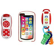 My first 3-in-1 Toy, Car Keys, Phone and Remote Control - Interactive Toy