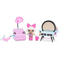 LOL Furniture with a doll - Hairdressing salon and Diva - Doll Accessory