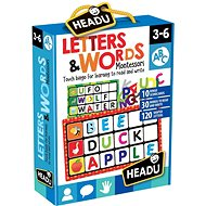 Montessori - Bingo - Letters and Words - Board Game
