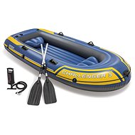 Inflatable Boat for 3 people + Paddles and Pump - Inflatable Boat