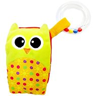 Rappa Mobil Baby Owl with Melody and Rattle - Baby Rattle