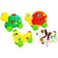 Rappa Animals with melody, 4 kinds - Toddler Toy