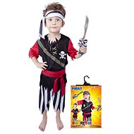 Rappa Pirate with a Head Scarf - Size M - Children's costume