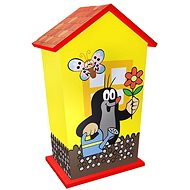 Rappa Wooden Money Box Little Mole - Cash Box