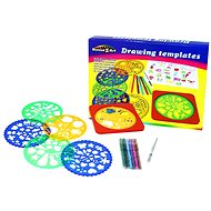 Rappa Drawing Templates with Markers - Creative Kit