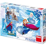 Dino Frozen: Winter Fun - Puzzle