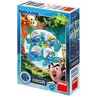 Dino Smurfs 3: Magic Forest Glow-in-the-Dark - Puzzle