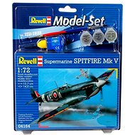 Revell Model Set 64164 aircraft – Spitfire Mk.V - Plastic Model