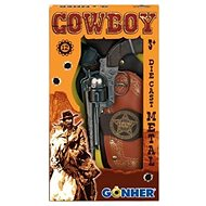 Western Cowboy Pistol Kit + Sheriffs Badge - Children's toy