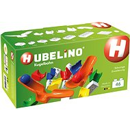 HUBELINO Marble run expansion 46 pieces with chute - Building Kit