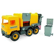 Wader Middle Truck garbage truck toy - Toy Vehicle