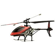 RC 4-channel Helicopter Buzzard Red - Remote control helicopter