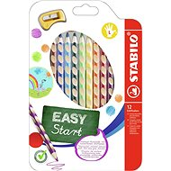 Stabilo Easycolours for the Left Handed 12pcs - Coloured Pencils