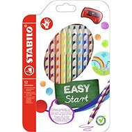 Stabilo Easycolours for right-handed 12 pcs - Coloured Pencils