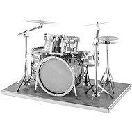 Metal Earth Drum Set - Metal Model