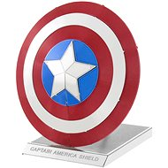 Metal Earth Marvel Captain America Shield - Metal Model