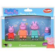 PlayBig Bloxx Piggy Peppa Family - Figure Set