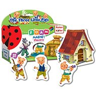 Magnetic Theater Three Little Pigs - Game set