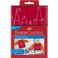 Faber-Castell Apron for painting red - Accessories
