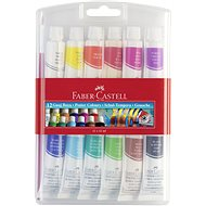 Faber-Castell Poster Colours, 12 Colors, 12ml - School aid