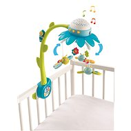 Smoby Cotoons blue-green flower mobile - Crib Toy