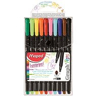 Maped Graph Peps 0,4mm, 10 colours - Liner