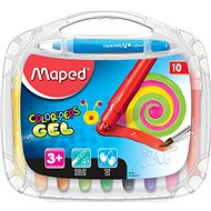 Maped Color Peps Gel, 10 colours - Coloured Pencils