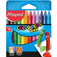 Maped Color Wax Peps, 12 colours - Coloured Pencils
