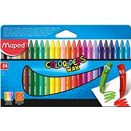 Maped Color Peps Wax, 24 colours
