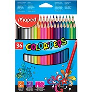 Maped Colour Peps, 36 colours - Coloured Pencils