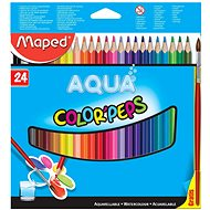 Maped Color Peps Aqua, 24 colours - Coloured Pencils