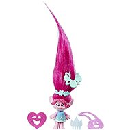 Little Poppy Troll Character with Extra Long Hair - Figurine