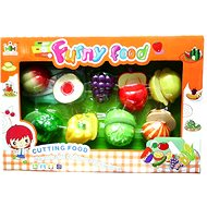 Set of fruits and vegetables with velcro fastener - Cookware Set