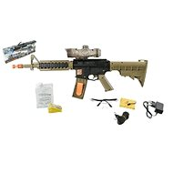 M16 rifle with water pellets - Toy Pistol