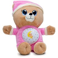 Sleeping Teddy Bear Pink - Plush Toy