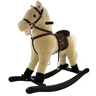 Rocking horse, beige - Plush Toy