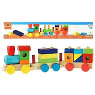 Train + 2 Wagons - Train Set