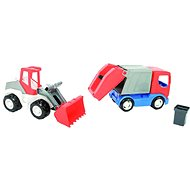 Wader Auto Tech truck 2v1 - Toy Vehicle