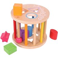 Bigjigs Motor toy toy Roller with shapes - Educational toy