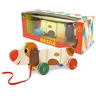 Vilac Pull-along dog - Push and Pull Toy