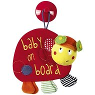 Car Dangling Toy Ladybird - Travel Toy