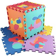Animals and vehicles 10 pcs - Foam Puzzle
