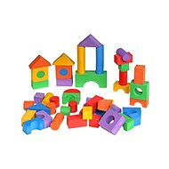 Coloured cubes 50 pieces - Building Kit