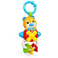 Clementoni Electronic Teddy Bear Rattle with Handle - Toddler Toy