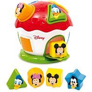 Clementoni Mickey House Shapes and Colours - Toddler Toy